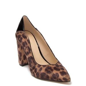 NIB Nine West Aileen Faux Hair Pump, W 6.5